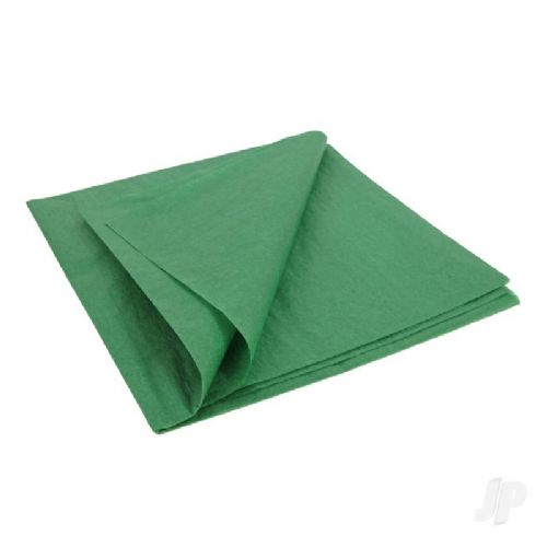 Olive Green Lightweight Tissue Covering Paper, 50x76cm, (5 Sheets)